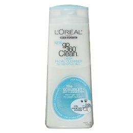 L'Oreal Paris Go 360 Clean Deep Facial Cleanser for Sensitive Skin