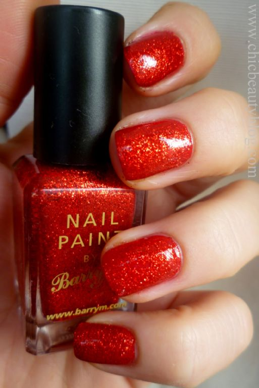 Barry M Red Glitter reviews, photo - Makeupalley