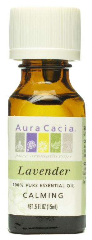 Aura Cacia Lavender 100% Pure Essential Oil CALMING