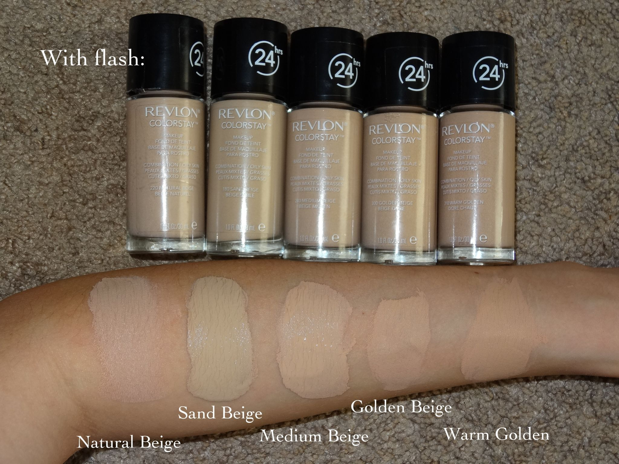 Revlon Colorstay 24hrs Makeup Spf 15 Combination Oily Skin Reviews Photos Ingredients Makeupalley