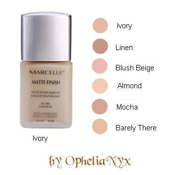 Marcelle Oil Free Matte Finish Make Up in Normal/Oily/Combo Skin [DISCONTINUED]