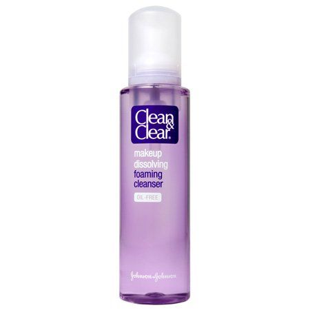 Clean Clear Makeup Dissolving Foaming