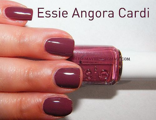 Essie Nail Lacquer Angora Cardi Reviews Photos