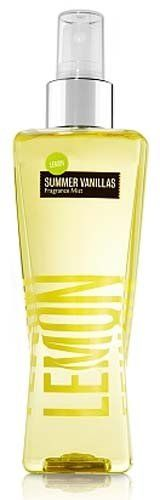 Bath & Body Works Summer Vanillas - Lemon Vanilla mist