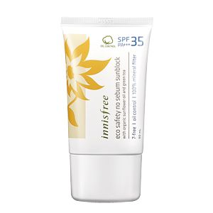 InnisFree Eco Safety No Sebum Sunblock SPF35 PA+++