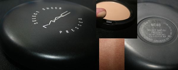 What I don't like about MAC Select Sheer Pressed Powder: