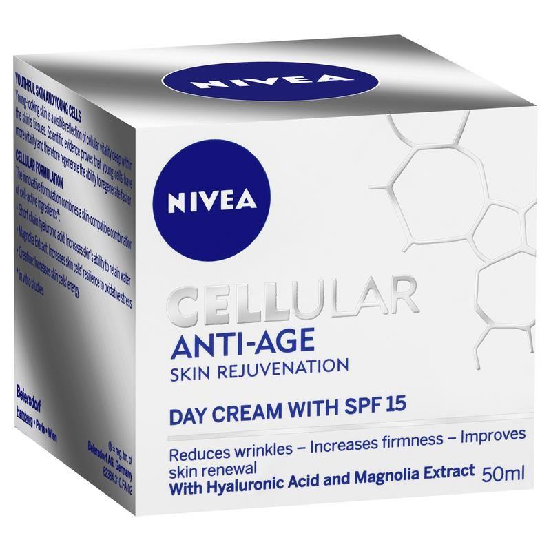 nivea cellular anti age ingredients