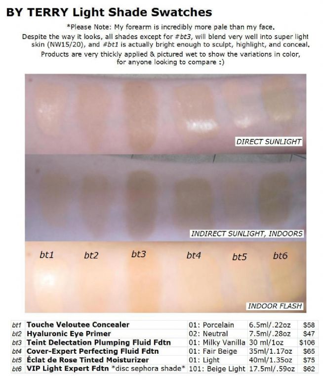 3948037da538 ... Expert Perfecting Fluid Foundation · By Terry Cover Veloutee Hyaluronic  teint eclat vip