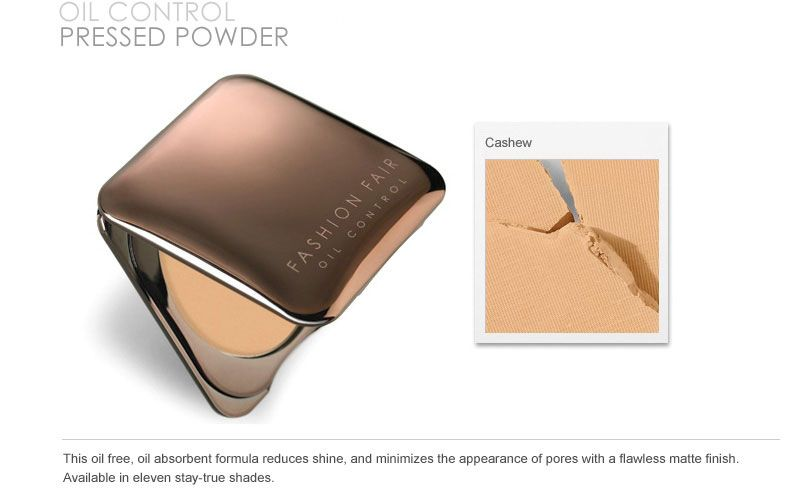 Fashion Fair Oil Control Pressed Powder