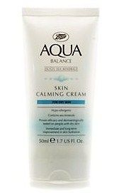 Boots  Aqua Balance Skin Calming Cream for Dry Skin