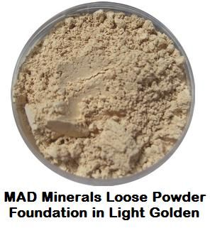 MAD minerals - in Light Golden