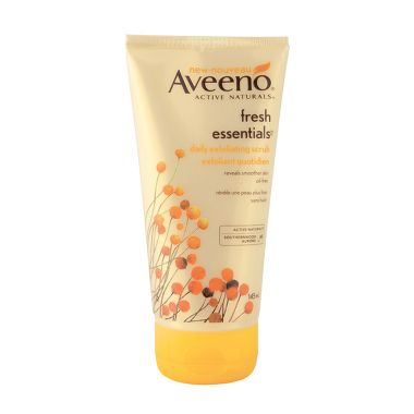Aveeno Fresh Essentials daily exfoliating scrub
