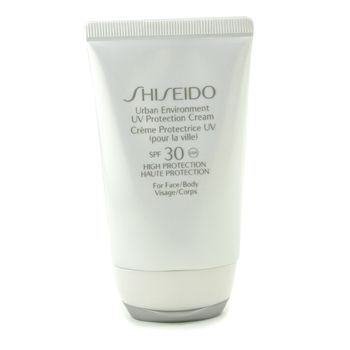 Shiseido  Urban Environment UV Protection Cream For Face and Body