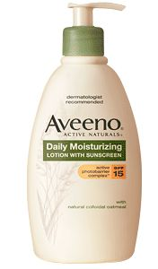 Aveeno Daily Moisturizing Lotion with Sunscreen spf 15