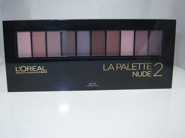 2 Pack LOreal Paris Colour Riche Eyeshadow Palette, Nude