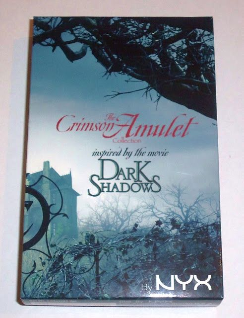 NYX Dark Shadows Crimson Amulets Palette