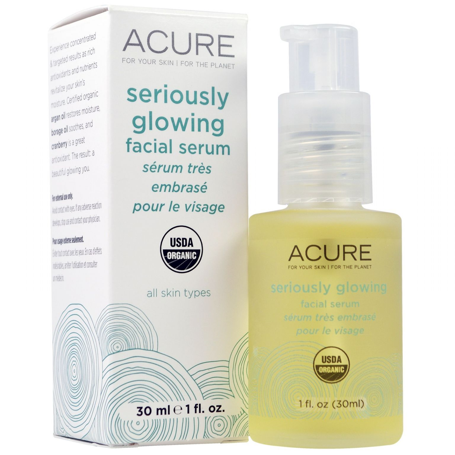 Acure Organics Seriously Glowing Facial Serum Reviews