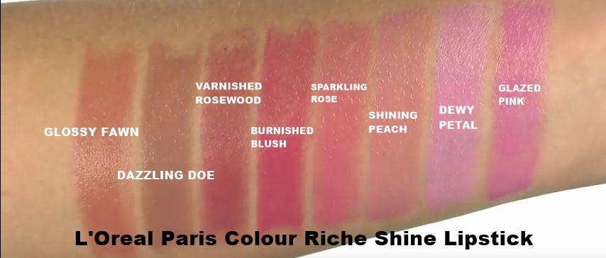 L Oreal Colour Riche Shine Lipstick Reviews Photos Makeupalley