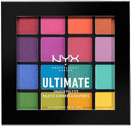NYX Professional Makeup Brights Ultimate Shadow Palette