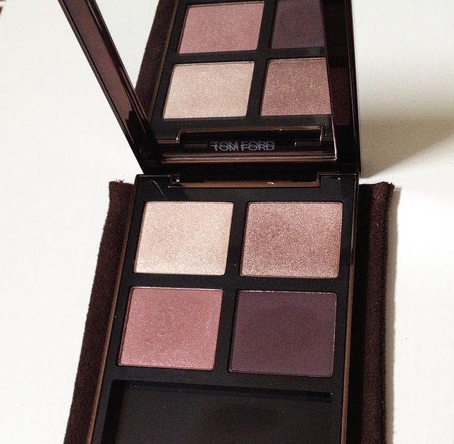 in quad eyeshadow ford mink golden tom