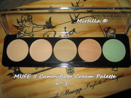 makeup forever camouflage cream palette review