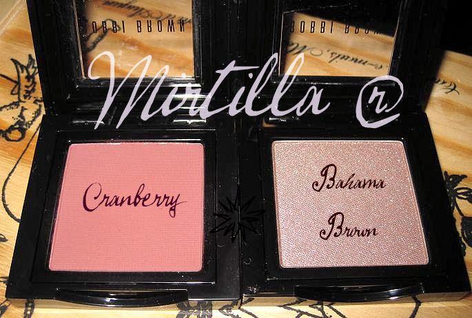 BOBBI BROWN Cranberry and Bahama Brown (Uploaded by Mirtilla)