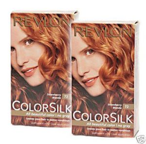 Revlon Colorsilk in 72 Strawberry Blonde