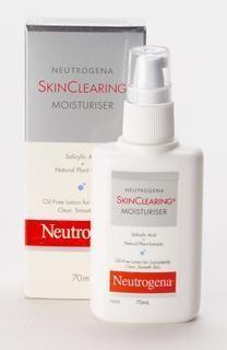 Neutrogena Skin Clearing Moisturizer