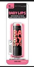 Maybelline Baby Lips -Strike A Rose