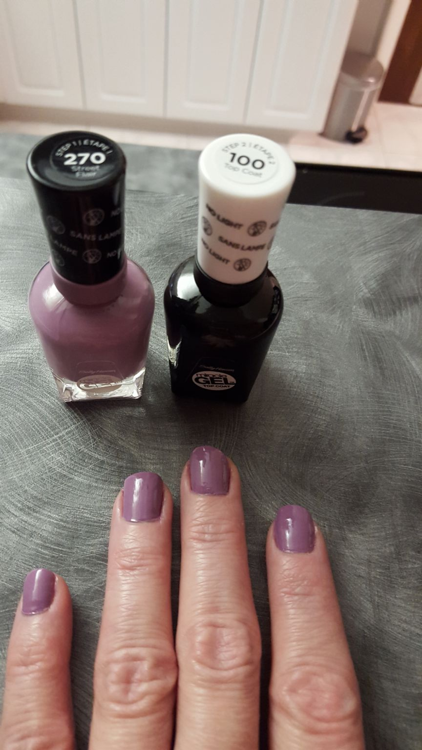 Sally Hansen Miracle Gel reviews, photos filter: reviewer eye Color ...