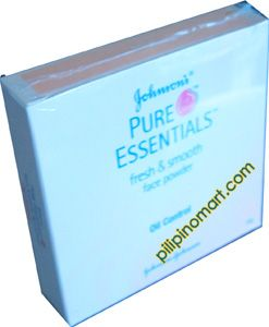 Johnson & Johnson Pure Essentials Pressed Powder