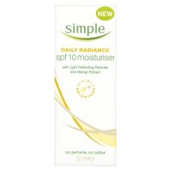 Simple Daily Radiance SPF10