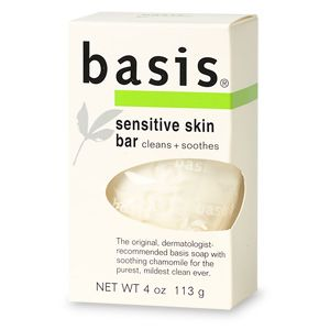 Basis Sensitive Skin Cleansing Bar - 4 oz kerstin florian clarifying exfoliating scrub 80ml/2.7oz
