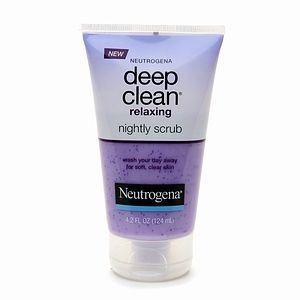 Neutrogena Deep Clean Relaxing Nightly Scrub