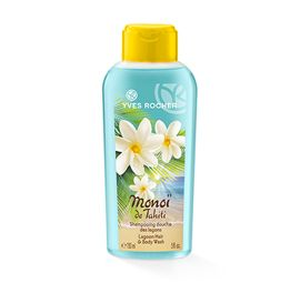 Yves Rocher Monoi de Tahiti Lagoon Hair & Body Wash