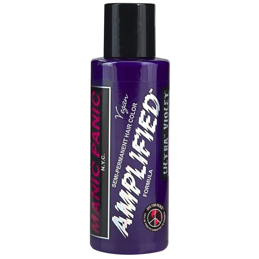 Amplified UltraViolet Semi-Permanent Hair Color