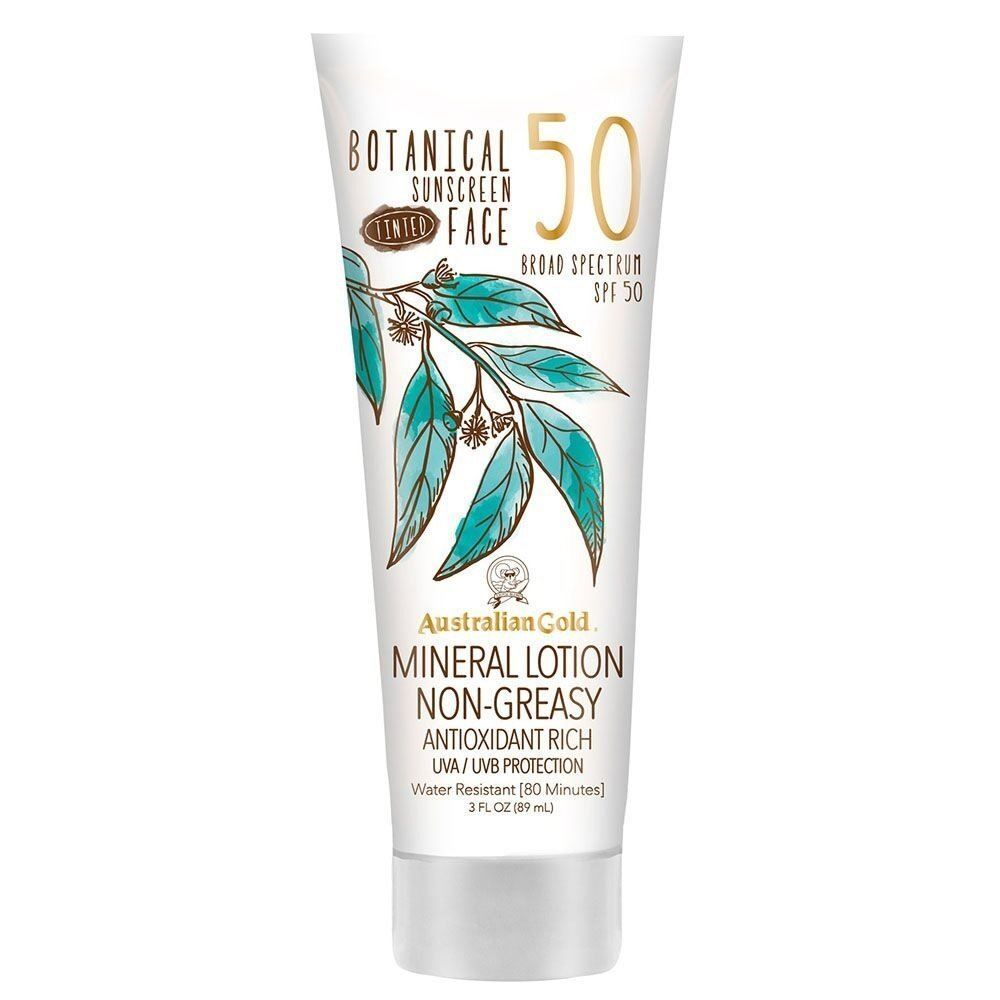 Botanical Tinted Sunscreen Mineral Lotion SPF 50