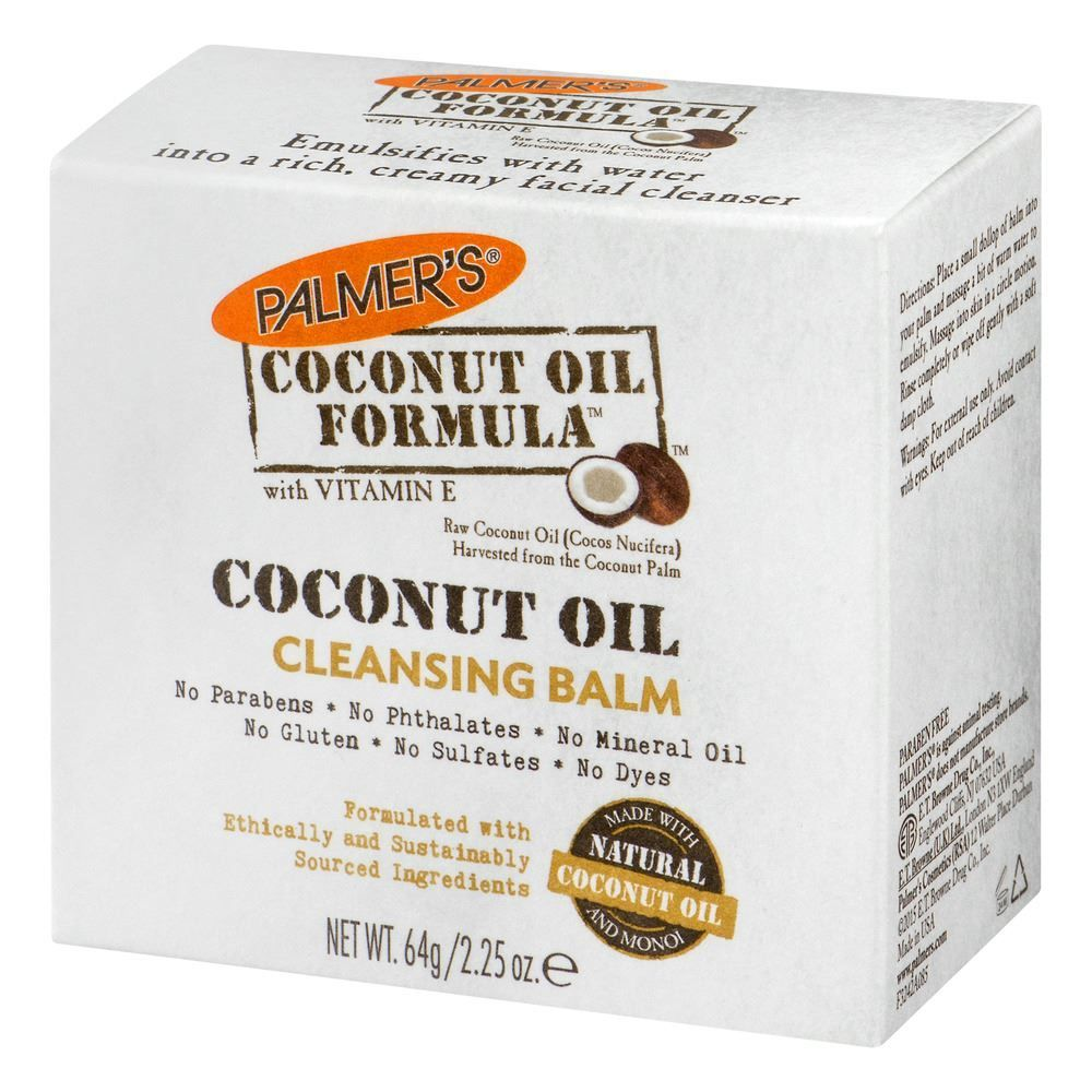 Coconut Oil Formula with Vitamin E Facial Cleansing Balm