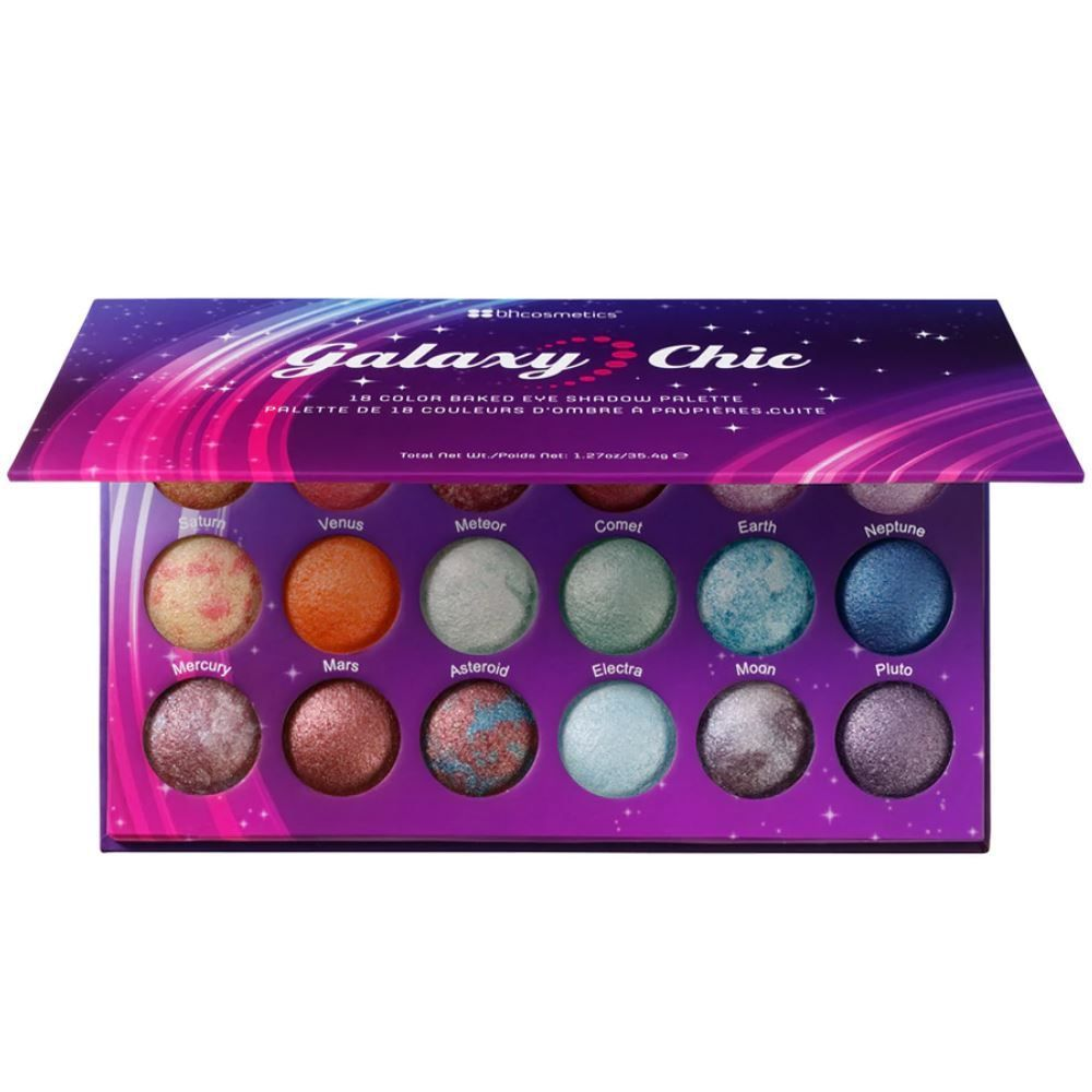 Galaxy Chic 18-Color Baked Eyeshadow Palette