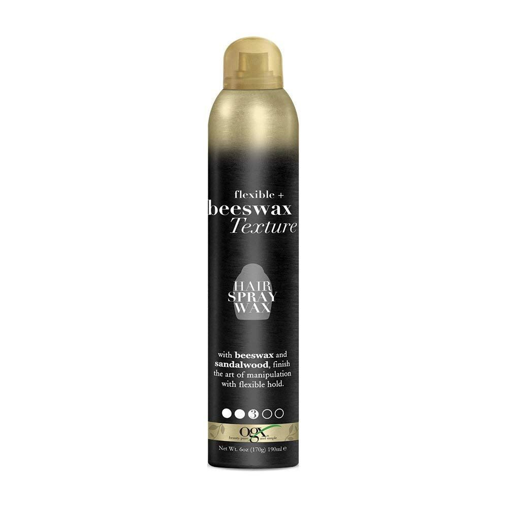 Flexible + Beeswax Texture Hair Spray Wax
