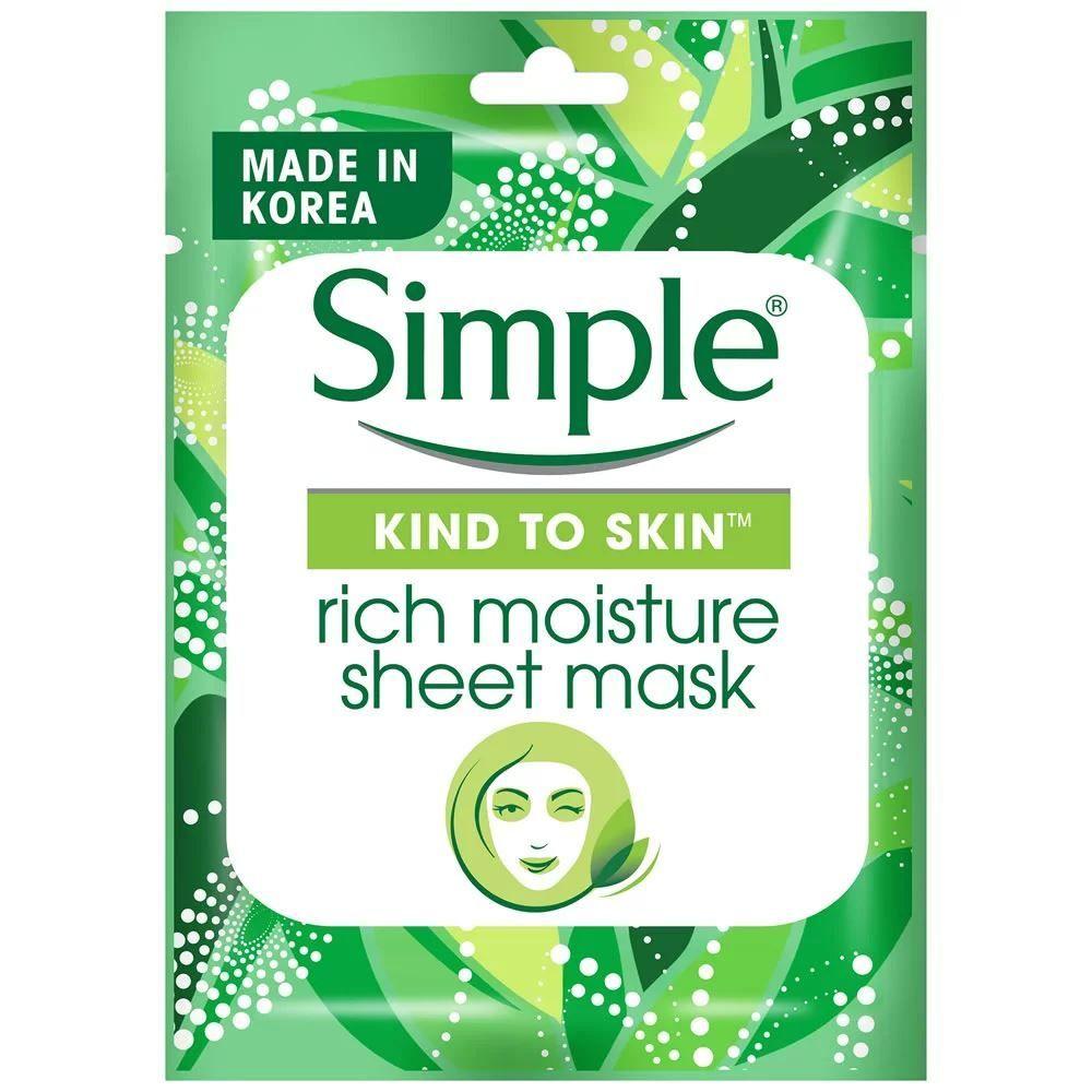 KIND TO SKIN Rich Moisture Sheet Mask