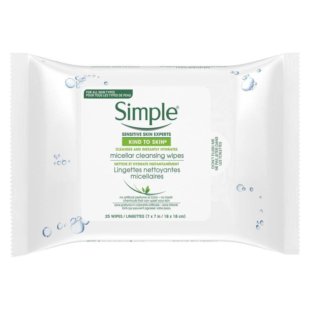 Micellar Make-Up Remover Wipes