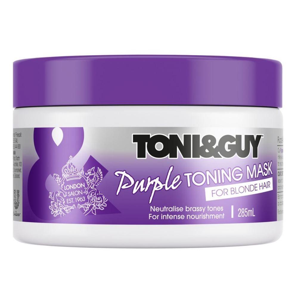 TONI&GUY - Purple Toning Mask for Blonde Hair
