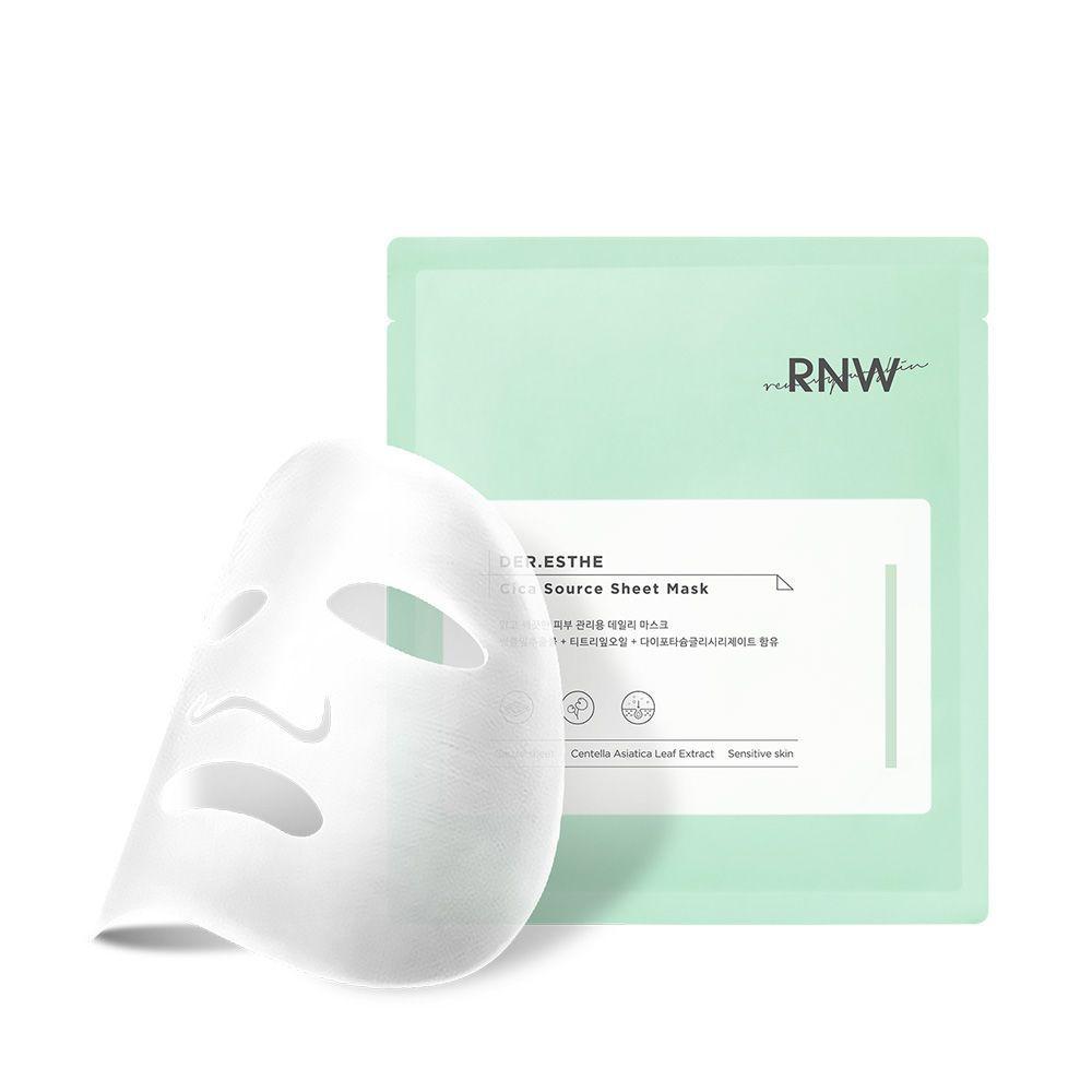 DER. ESTHE Cica Source Sheet Mask Set