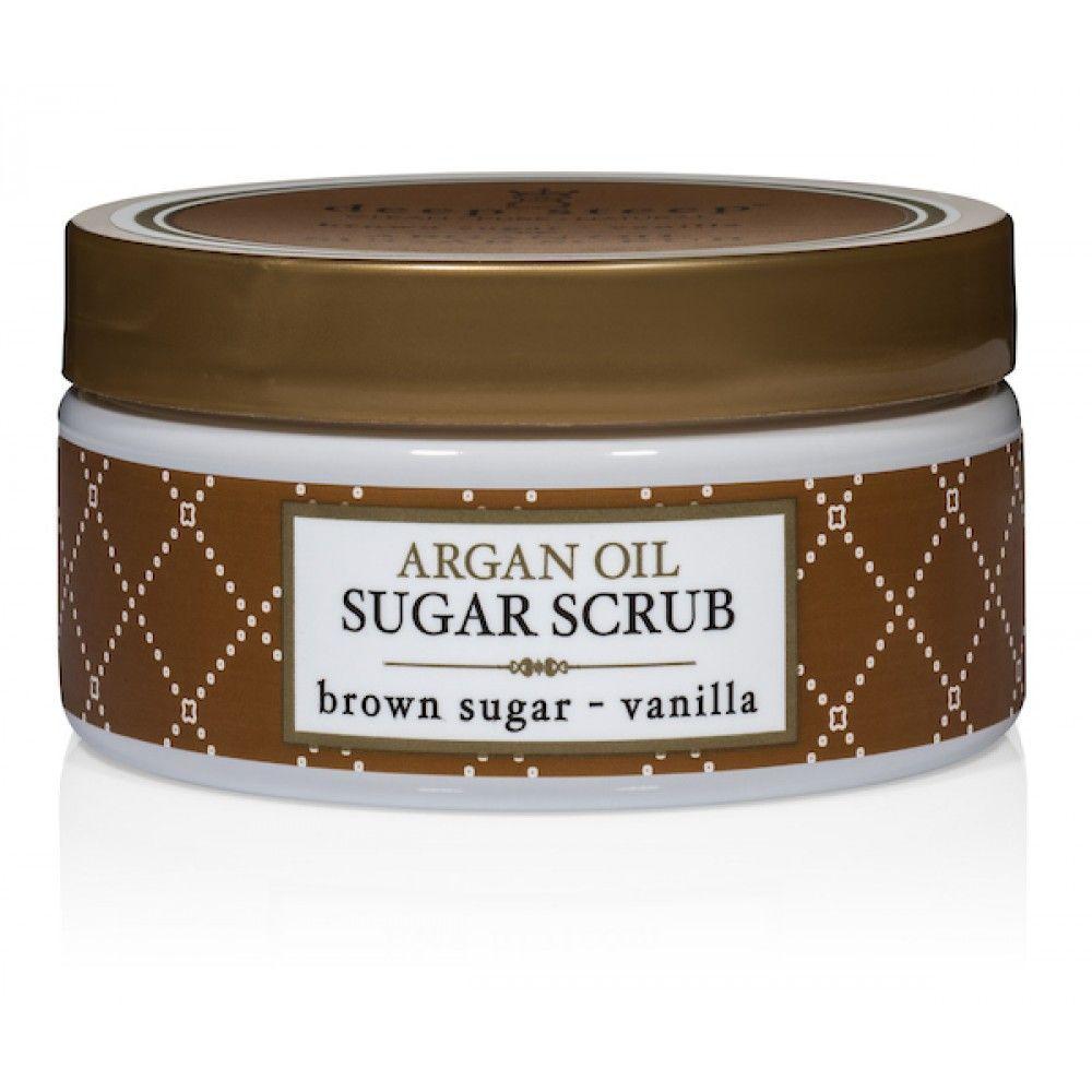 Argan Oil Sugar Scrub - Brown Sugar Vanilla