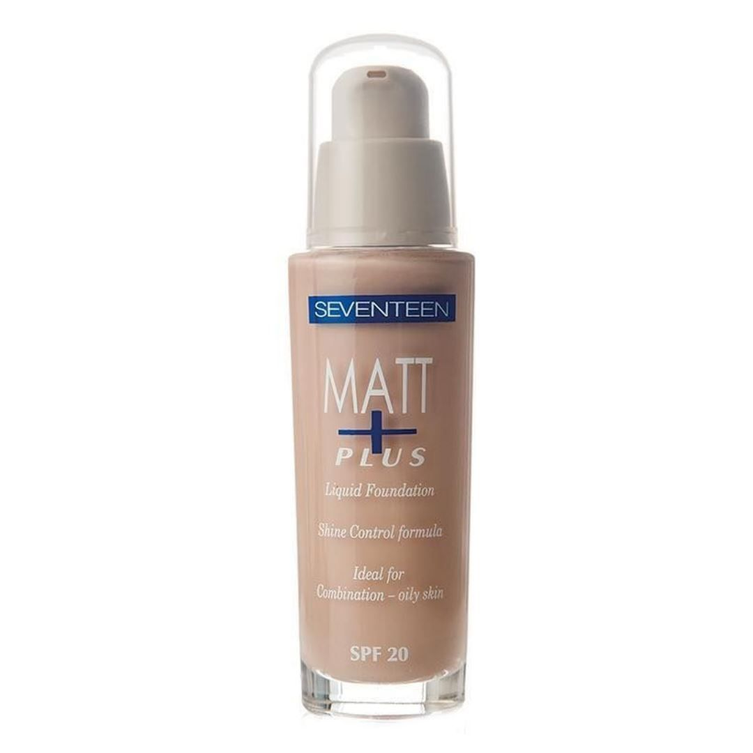 Matt Plus Shine Control Foundation