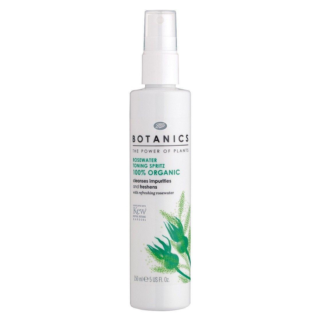 Botanics - Organic Face Rosewater Toning Spritz
