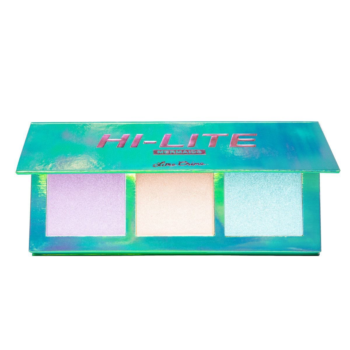 Hi-Lite Glitter-n-Glow Highlighter Palette - Mermaids Highlighter