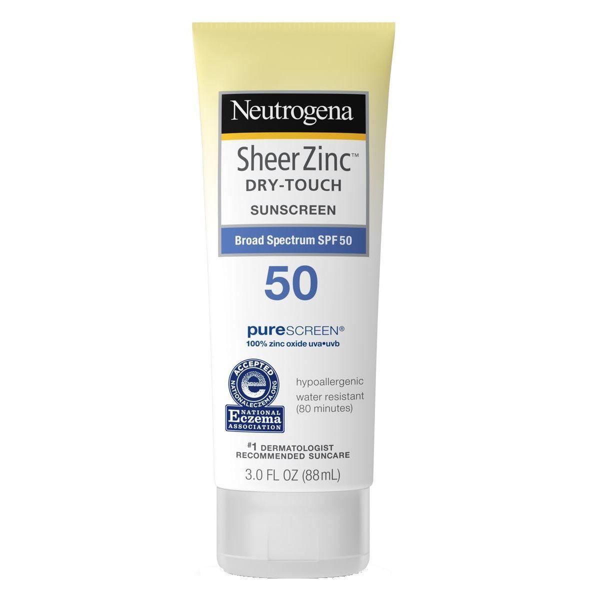Sheer Zinc Sunscreen Face Lotion SPF 50