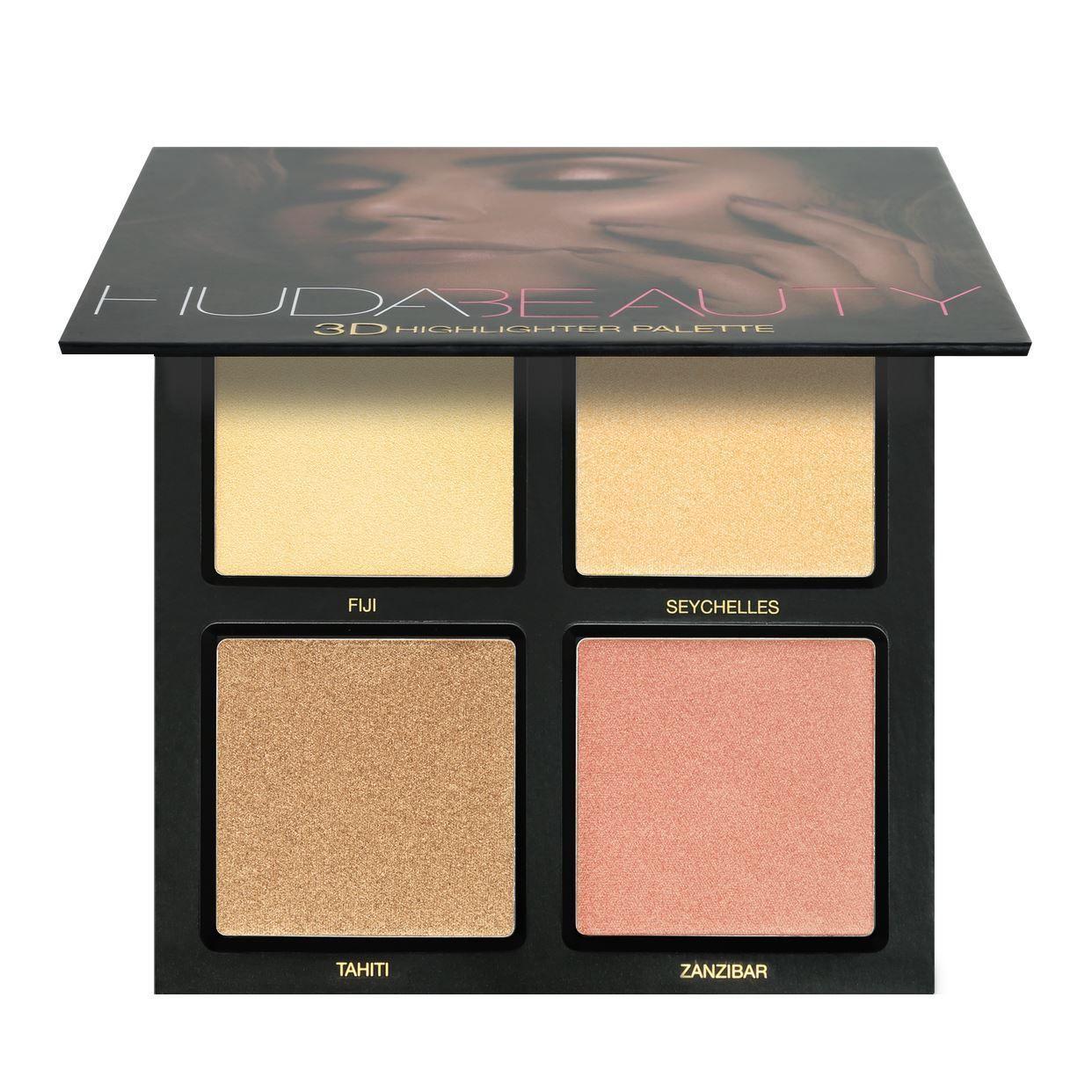3D Highlighter Palette - Golden Sands
